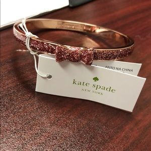 Kate Spade rose gold bangle! New with tags!